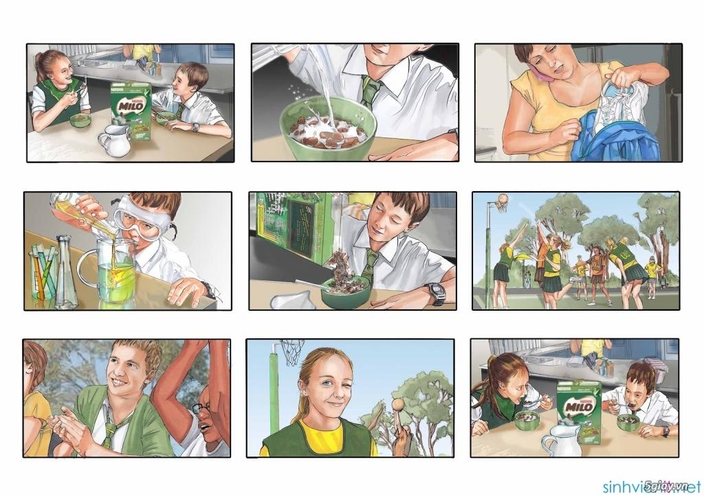 3 Dạng Storyboard Thường Gặp Trong Sản Xuất TVC Quảng Cáo 1