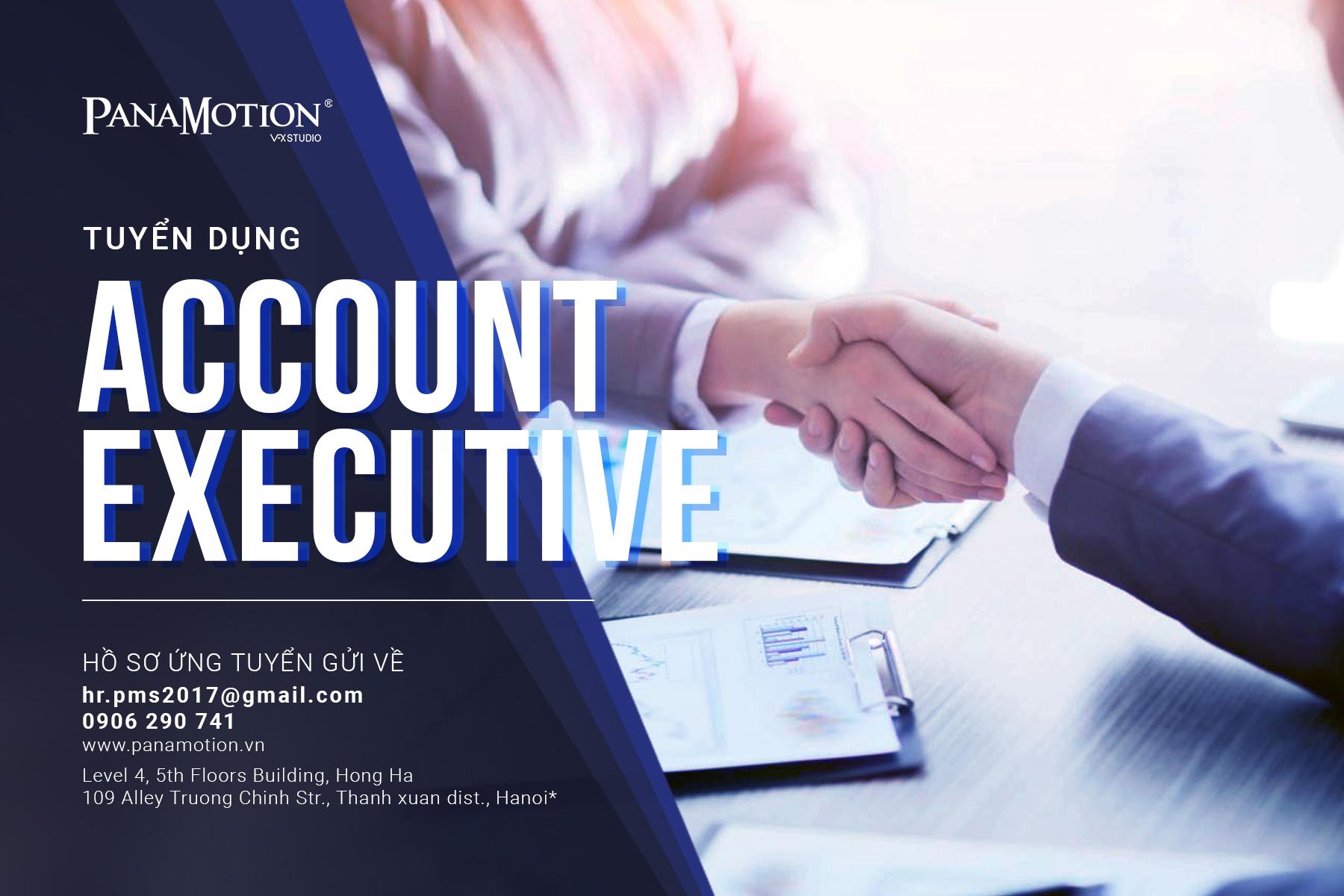 PanaMotion Tuyển Dụng Account Executive