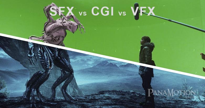 Sự khác biệt giữa VFX, SFX và CGI