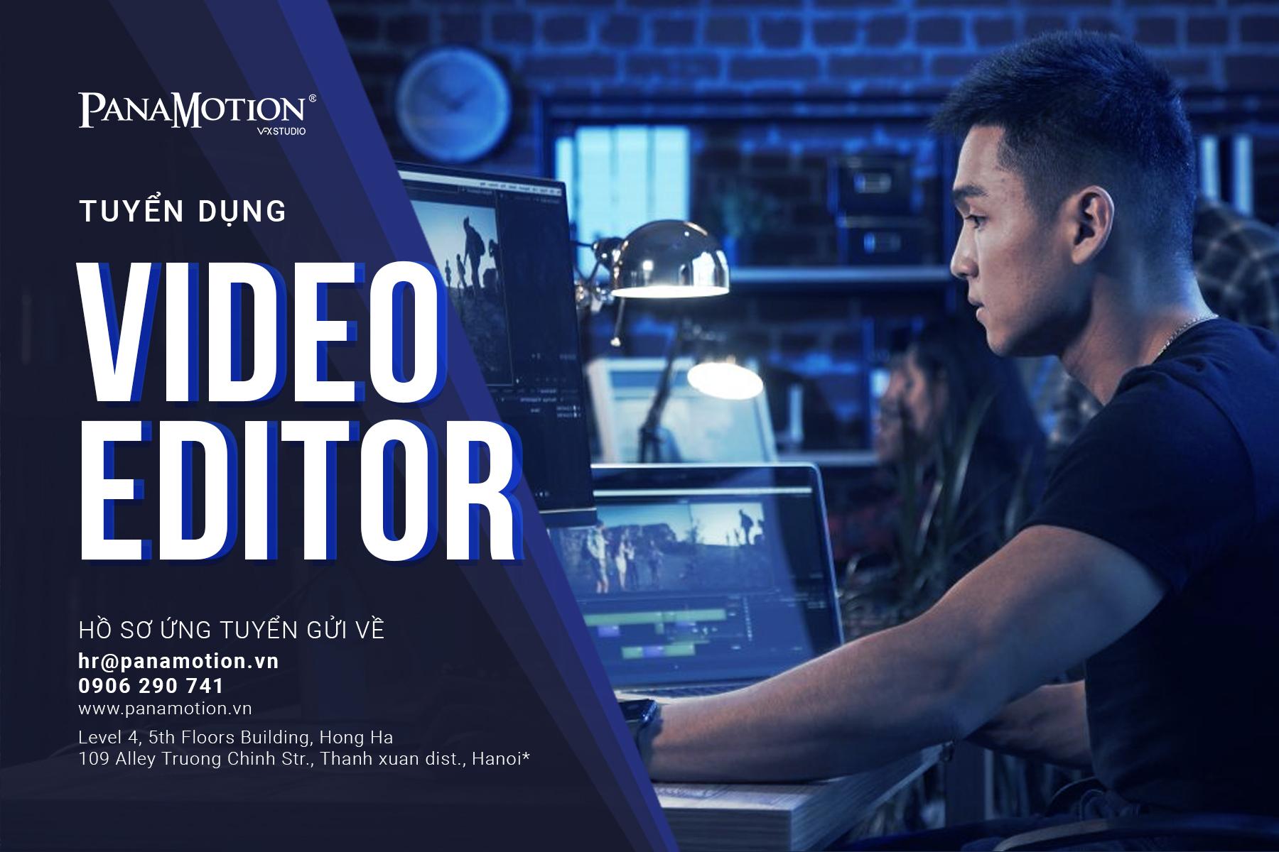 Tuyển Dụng VIDEO EDITOR